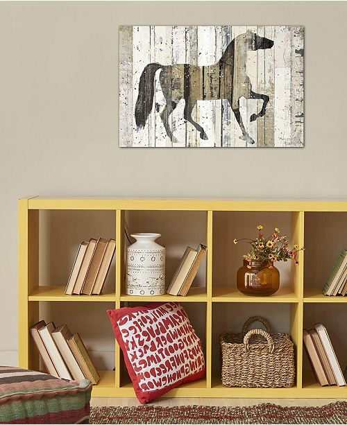 """iCanvas """"Dark Horse"""" by Michael Mullan Gallery-Wrapped Canvas Print (26 x 40 x 0.75)"""