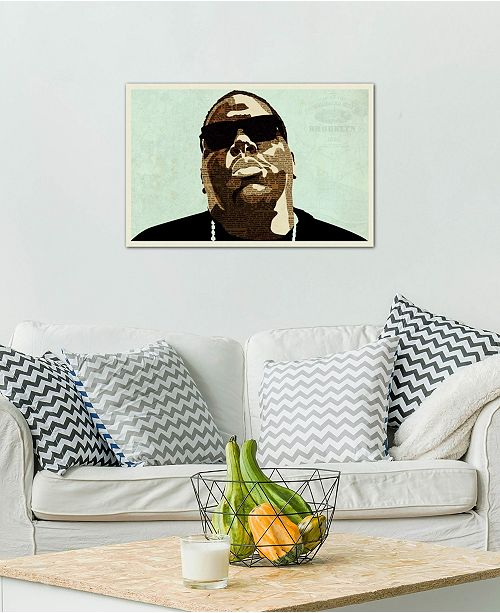 """iCanvas """"Biggie"""" by Kyle Mosher Gallery-Wrapped Canvas Print (26 x 40 x 0.75)"""