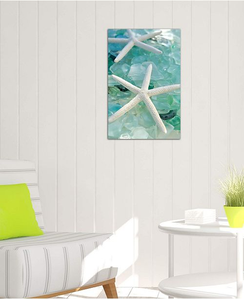 """iCanvas """"Seaglass 1"""" by Alan Blaustein Gallery-Wrapped Canvas Print (40 x 26 x 0.75)"""