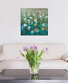 "iCanvas ""Rain Drops"" by Danhui Nai Gallery-Wrapped Canvas Print (18 x 18 x 0.75)"
