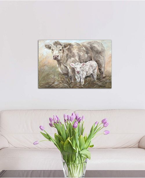 """iCanvas """"Sweet Pea"""" by Debi Coules Gallery-Wrapped Canvas Print (26 x 40 x 0.75)"""