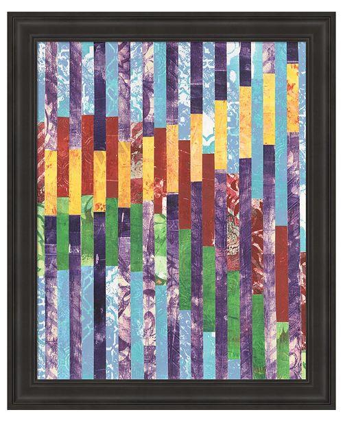Metaverse Quilted Monoprints II by Regina Moore Framed Art