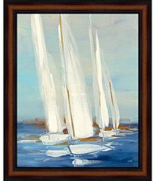 Summer Regatta II by Julia Purinton Framed Art