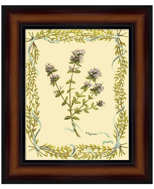 Metaverse Small Thyme by Wendy Russell Framed Art