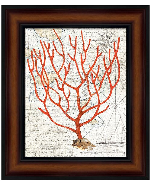 Metaverse Textured Coral I by Avery Tillmon Framed Art