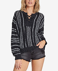 Billabong Juniors' Yeah Bouy Lace-Up Sweater