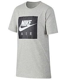 Nike Big Boys Air-Print Cotton T-Shirt
