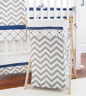 Out of the Blue Hamper Bedding