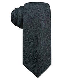 Ryan Seacrest Distinction™ Men's Ramapo Paisley Slim Silk Tie, Created for Macy's
