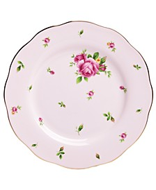 Old Country Roses Pink Vintage Salad Plate