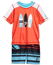 Laguna Toddler Boys Summer Stripe Swim Set