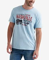 10770afa Lucky Brand Men's Nashville Guitars Graphic T-Shirt
