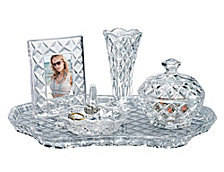 Godinger Shannon 5 Pc Vanity Set
