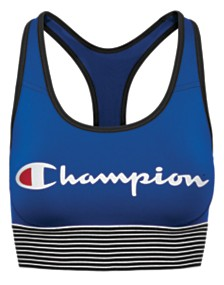 Champion The Absolute Workout Powermesh Longline Bra B125LG, exclusive to Macy's