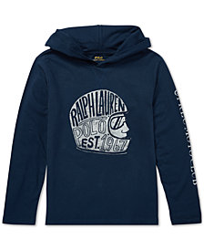 Polo Ralph Lauren Big Boys Cotton Hooded Graphic T-Shirt