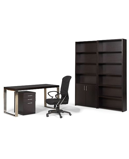 Home Office Sets Painted Office 5 Piece: Furniture Stockholm Home Office Furniture, 5 Piece Set