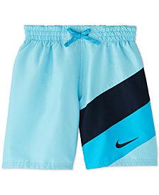 """Nike Big Boys Signal 6"""" Volley Swim Trunks"""