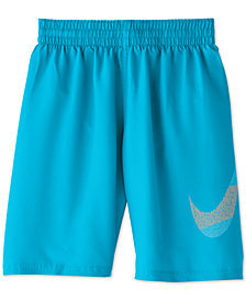 "Nike Big Boys Mash Up Breaker 8"" Volley Swim Trunks"