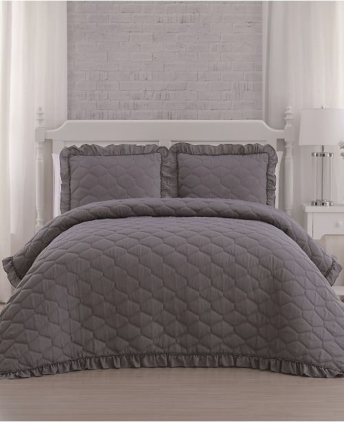 Geneva Home Fashion Melody 3-Pc. Quilt Sets