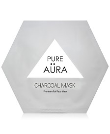 Pure Aura Charcoal Foil Mask