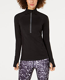 Ideology Half-Zip Top, Created for Macy's