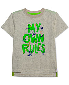 Jem Little Boys My Own Rules Graphic T-Shirt
