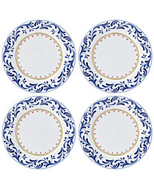 Dansk Northern Indigo Dinner Plates, Set of 4