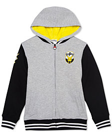 Pokemon Big Boys Pika Patches Graphic Hoodie