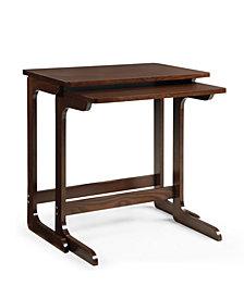 Savannah Walnut TV Tray Side Tables
