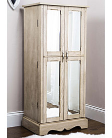 Chelsea Taupe Jewelry Armoire