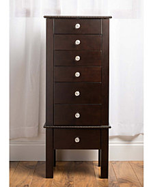 Hannah Crystal Jewelry Armoire