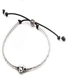 Beagle Head Bracelet in Sterling Silver