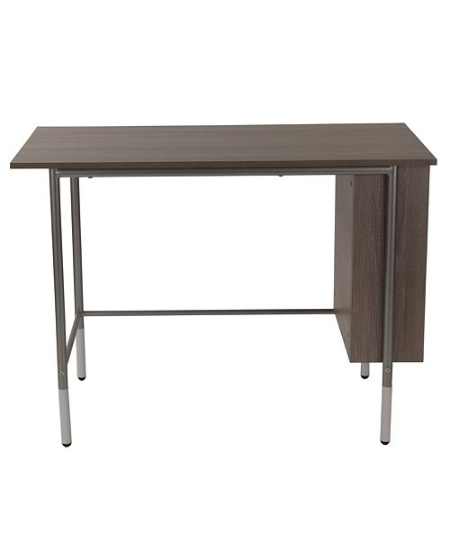 Flash Furniture Hillside Light Applewood Finish Computer Desk With