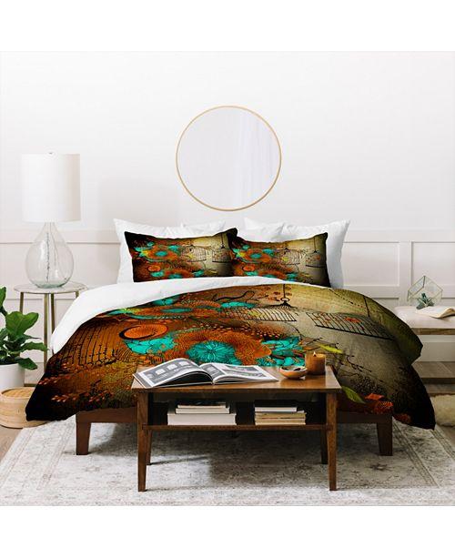 Deny Designs Iveta Abolina Rusty Lace Queen Duvet Set
