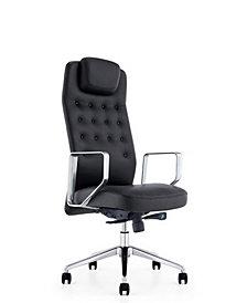 Modrest Tiller Modern High-Back Office Chair