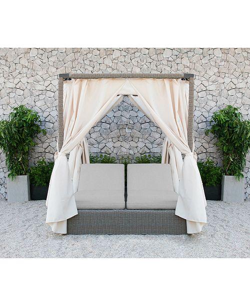 VIG Furniture Overmax- Renava Marin Outdoor Canopy Sunbed