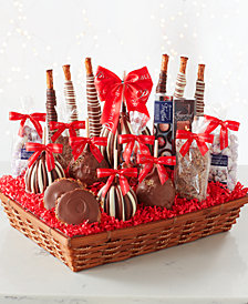 Mrs. Prindables Abundant Festive Gift Basket