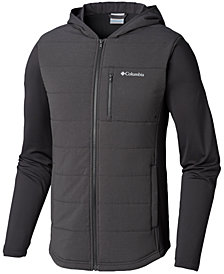 Columbia Men's Shark Pilsner Peak Colorblocked Hooded Hybrid Jacket