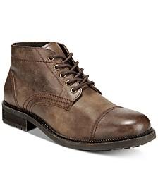 Dr. Scholl's Men's Airborne Cap-Toe Leather Boots
