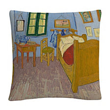 "Van Goghs Bedroom At Arles' 16x16"" Decorative Throw Pillow by Vincent Van Gogh"