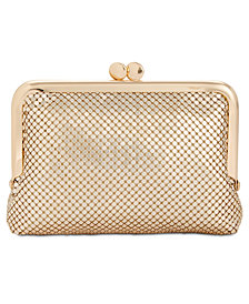 I.N.C. Penny Flat Mesh Coin Purse, Created for Macy's
