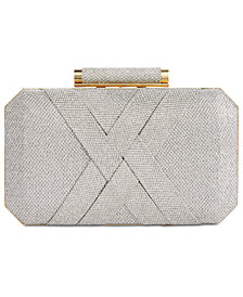 I.N.C. Lindsay XX Lurex Clutch, Created for Macy's