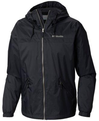 Tommy Hilfiger Men/'s Blue Logo Insulated Varsity Hooded Puffer Zip Jacket $250