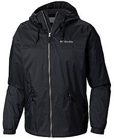 Columbia Men's Oroville Creek Lined Hooded Rain Jacket