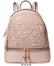 MICHAEL Michael Kors Rhea Zip Studded Backpack