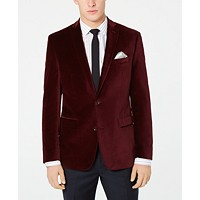 Deals on Bar III Velvet Slim-Fit Sport Coat