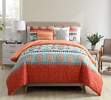 VCNY Home Ezra 4 PC Twin XL Medallion Quilt Set