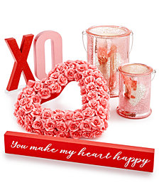 Martha Stewart Collection Valentine's Day Décor Collection, Created for Macy's