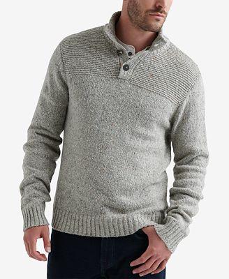 Lucky Brand Mens Henley Sweater Sweaters Men Macys