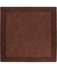 Surya Mystique M-294 Dark Brown 6' Square Area Rug